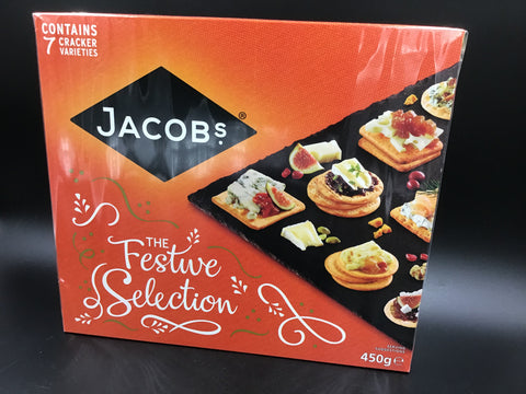 "Jacob's Crackers ""The Festive Selection"" 450g"