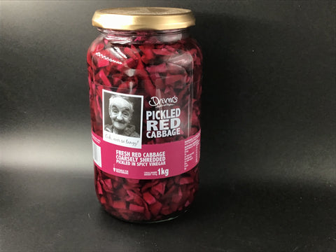 "Driver's ""Pickled Red Cabbage"" 1kg"