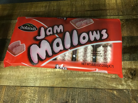 Bolands Jam Mallows 12pk