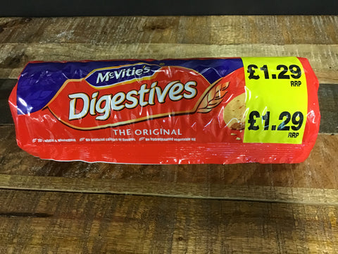 McVitie's Digestives Biscuits - Various Sizes