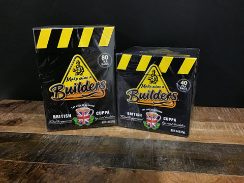 Builders British Cuppa Strong Tea 80s & 40's