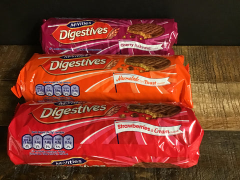 McVities Chocolate Digestives Limited Edition - 3 Flavours