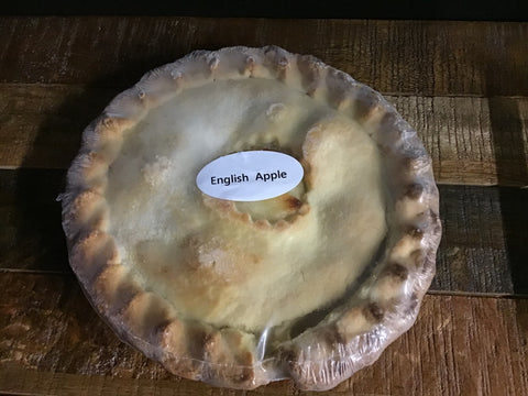 "Fruit Pies - English Apple - Blackcurrant/Apple - 5"" or 8"""