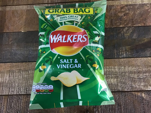 Walkers Salt & Vinegar Crisps Grab Bag