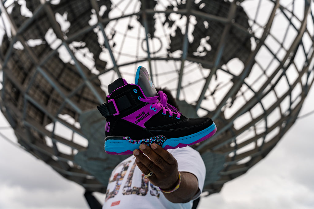 "EWING ATHLETICS AND MAIN SOURCE CELEBRATE THREE DECADES OF ""BREAKING ATOMS"""