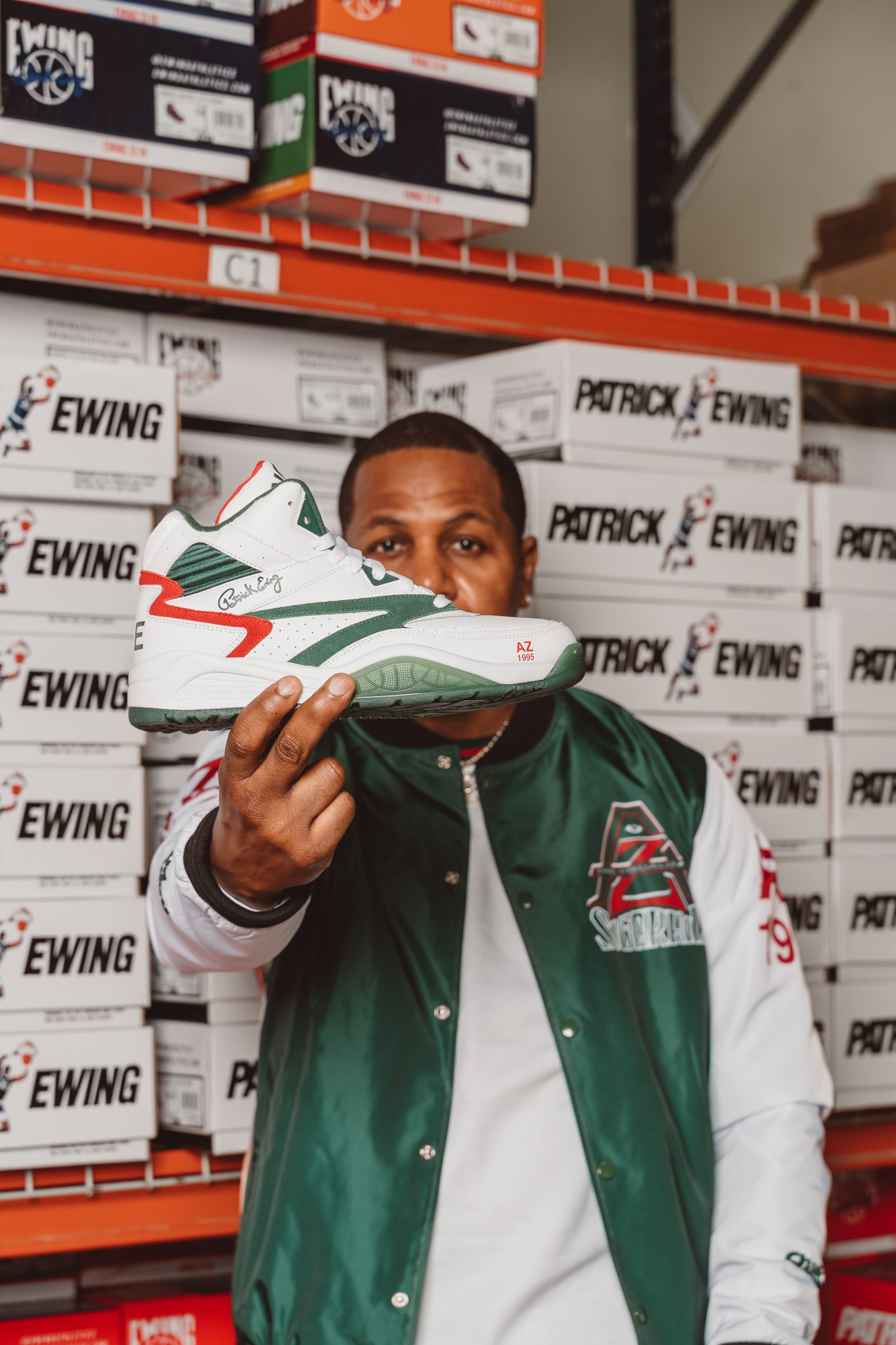 SPORT LITE x AZ White/Green/Red PREORDER