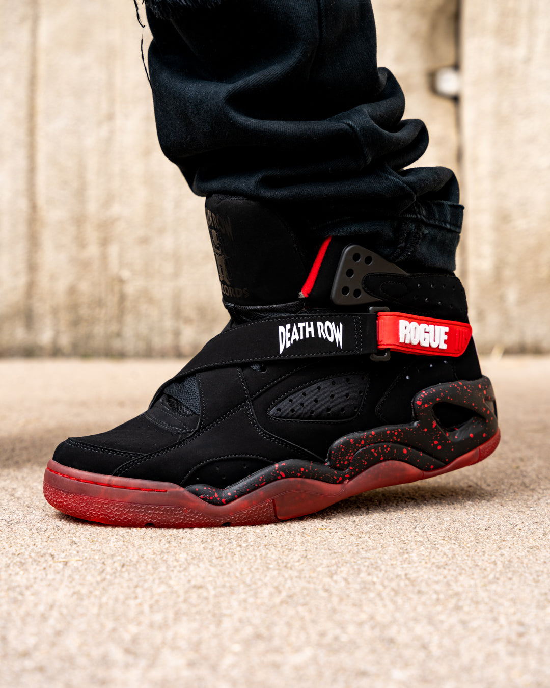 ROGUE x DEATH ROW RECORDS Black/Red