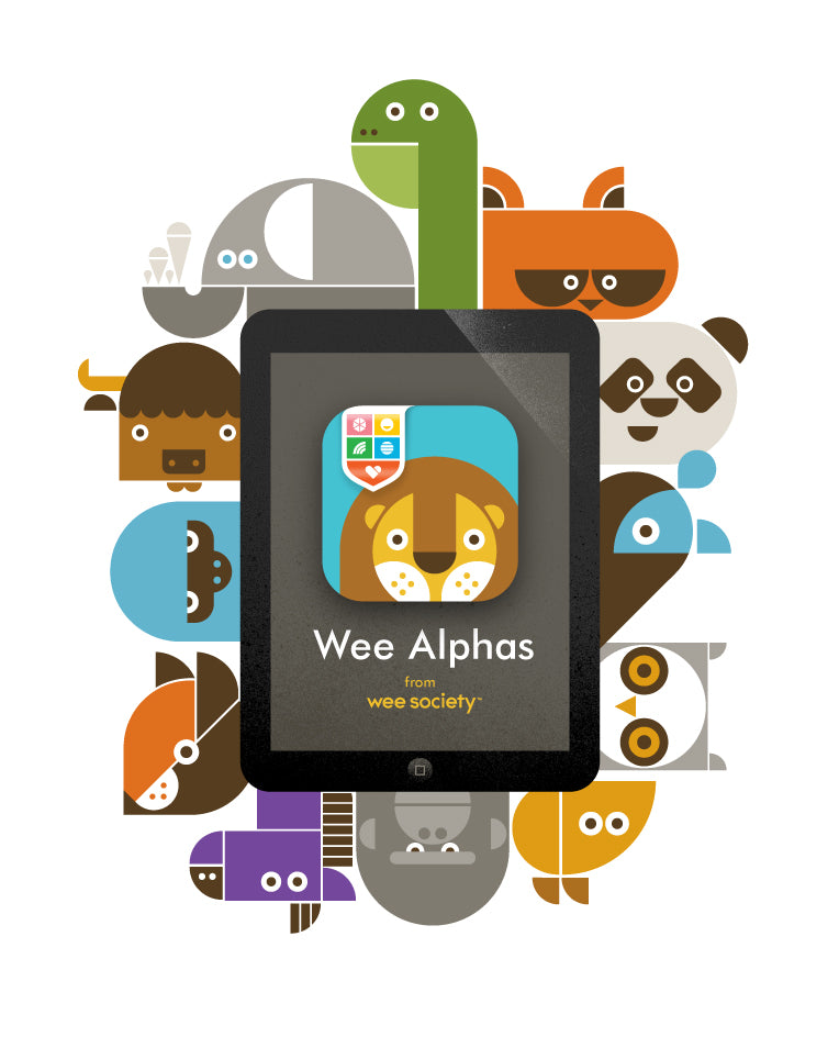 Wee Alphas iPad Family