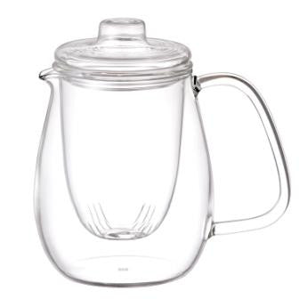 kinto unitea teapot set glass