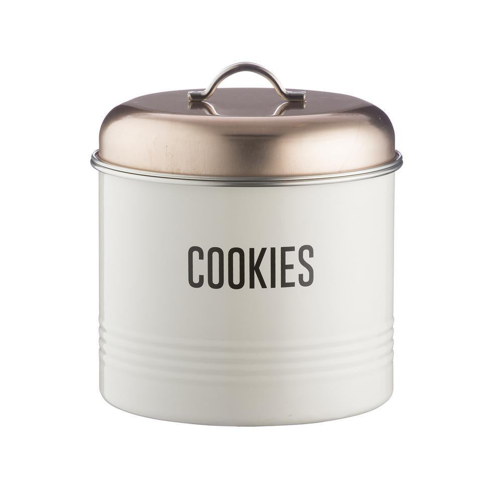 Copper Vintage Cookie Tin