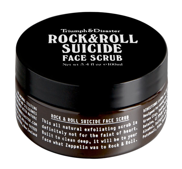 Rock and Roll Suicide Face Scrub
