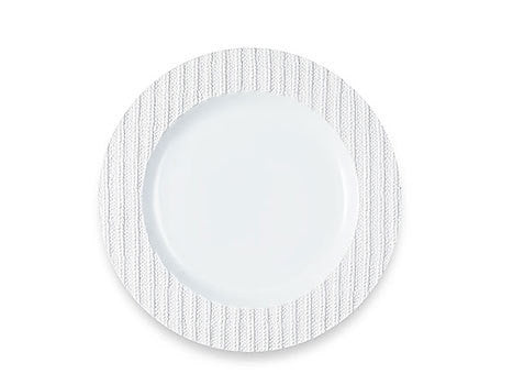 Laine Blanche Plate