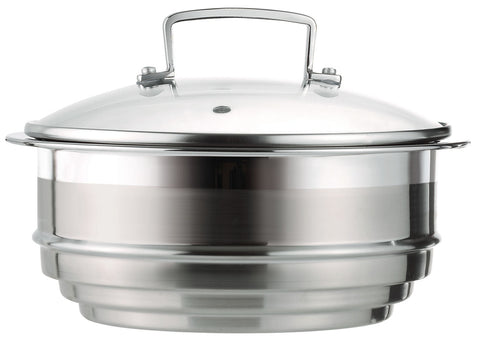 Le Creuset 3 Ply Multi Steamer with Lid