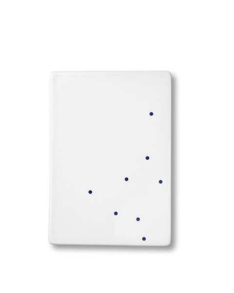 anne black butter tile dots