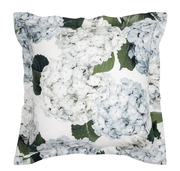 Blue Hydrangea European Pillowcase