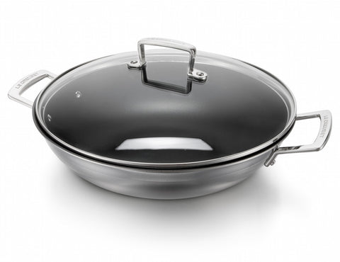 Le Creuset 3-ply Stainless Steel Wok