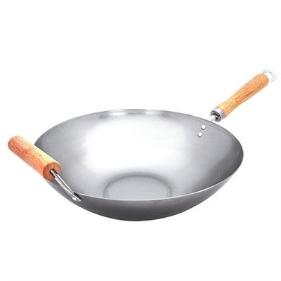 wok stir fry 35cm gourmet kitchen