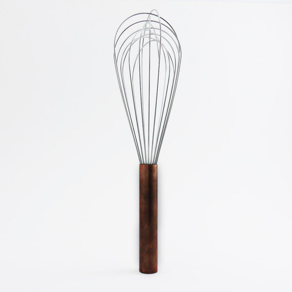 copper handle whisk 12""