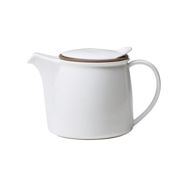 Kinto Brim Teapot 750ml White