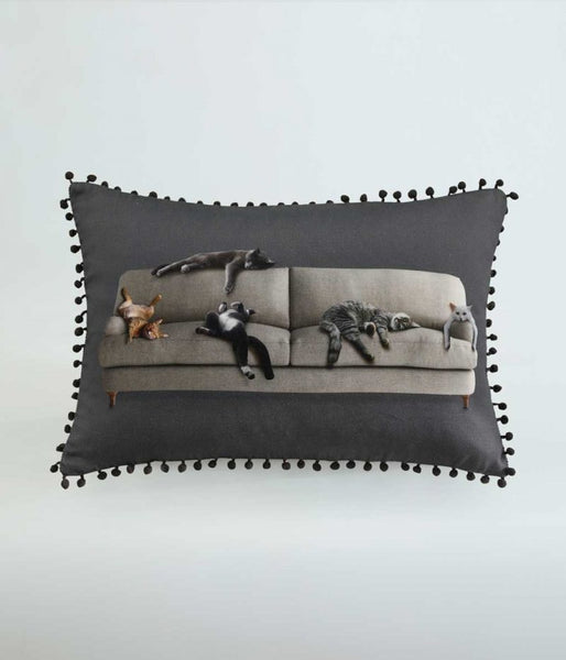 Couch & Cats Cushion