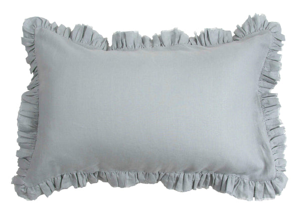 Loft Linen Frill Pillowcase Set