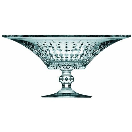 Lady Diamond Footed Crystal Bowl 36d