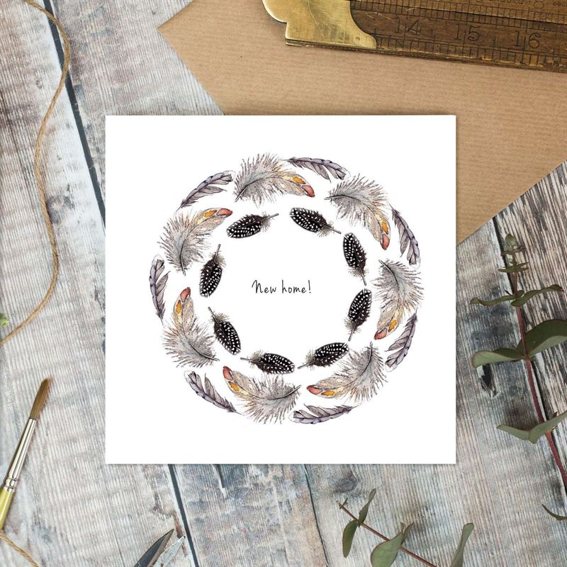 'Feathers & Foliage' Cards
