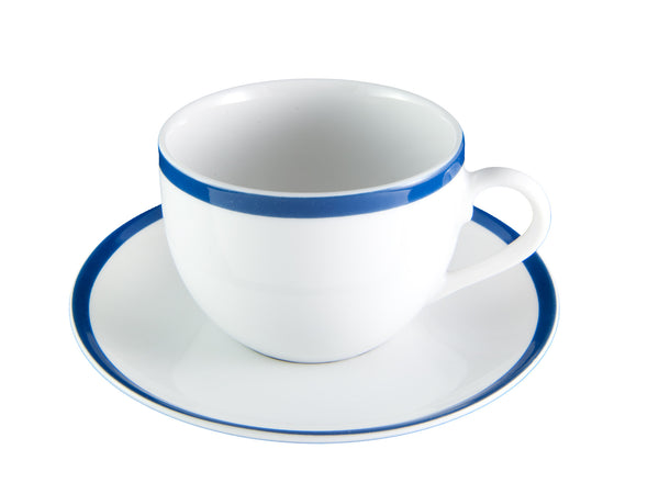 Blue Stripe Cup & Saucer