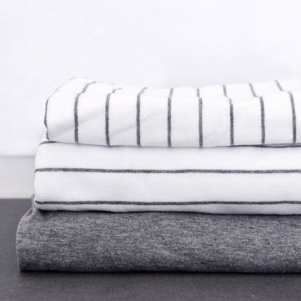 Mikmax Striped Standard Pillowcase