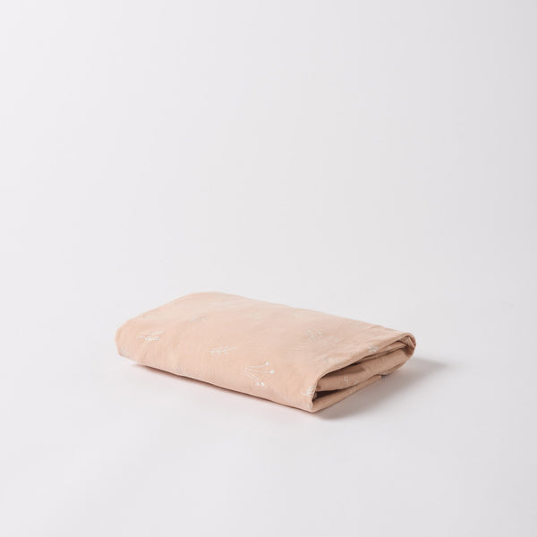 Organic Cotton Fitted Cot Sheet