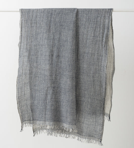 Stevie Wool Linen Throw