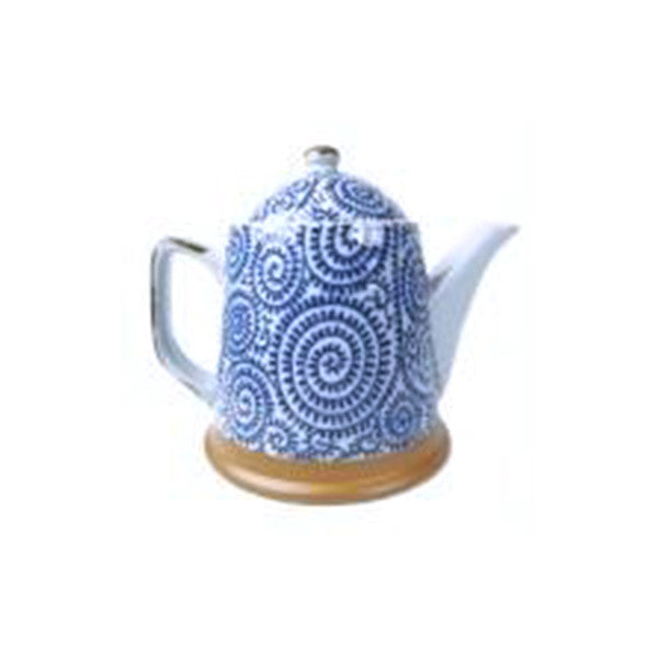 teapot 400ml t-fern with s/s infuser basket