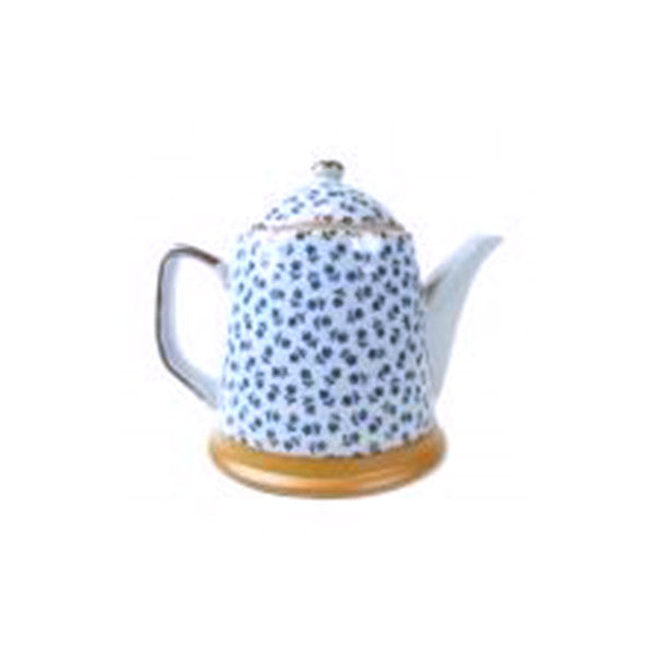 teapot 400ml t-flower with s/s infuser basket