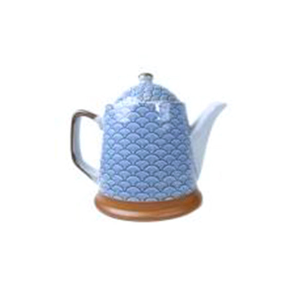 teapot 400ml t-wave with s/s infuser basket