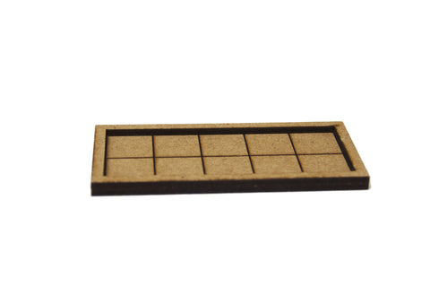 Custom Large Infantry Movement Trays (25mm)