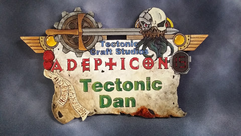 AdeptiCon 2017 Custom Name Tag