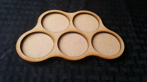 Custom Round Base Movement Trays