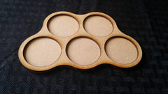 Custom Round Base Skirmisher Trays