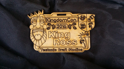 KingdomCon 2016 Custom Nametag