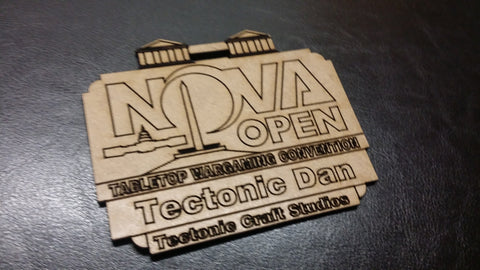 NOVA Open 2016 Custom Nametag