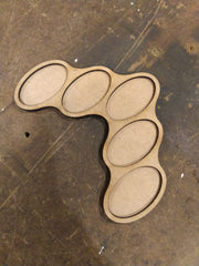 60mm Oval Base Movement Trays