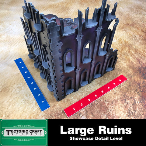 40k 9th Gothic Ruins: Large