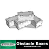 40k 9th Obstacles: Gothic Box Pile