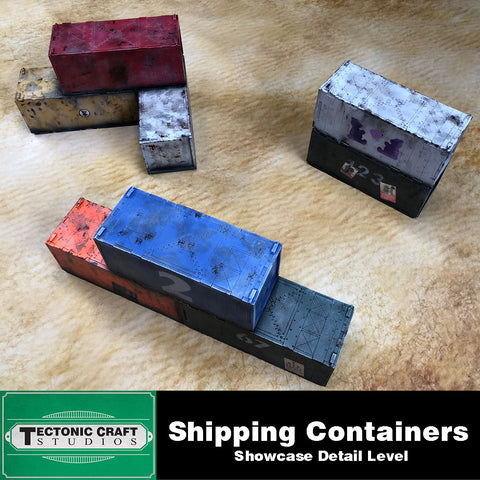 40k 9th Gothic Shipping Containers