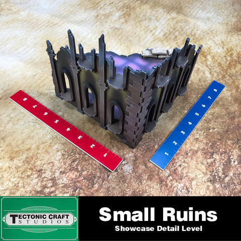 40k 9th Gothic Ruins: Small