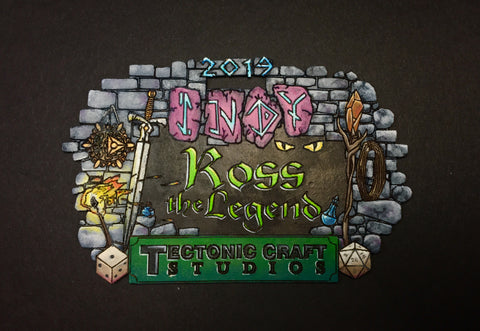 Indy 2019 Custom Name Tag