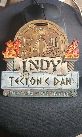 50th Aniversary Indy 2017 Personalized Name Tag