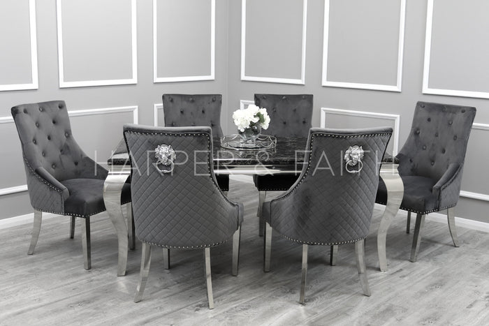1.8m | Louis Dining Set | Bentley Chairs