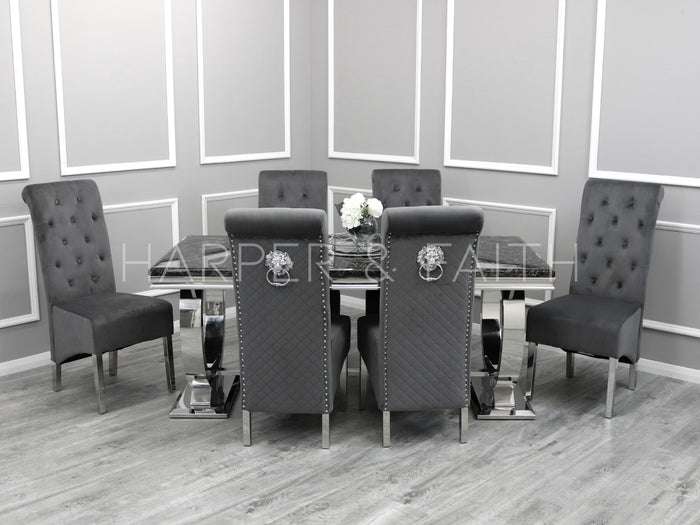 1.8m | Arianna Dining Set | Emma Chairs