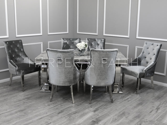 1.8m | Arianna Dining Set | Duke Chairs